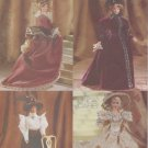 "Barbie 11 ½"" Fashion Doll 1800's Gowns Vogue Craft 9759 NEW"