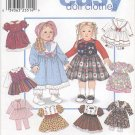 "Design Your Own 18"" Doll Wardrobe Simplicity 8961 NEW"