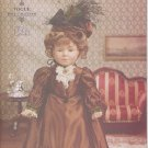"Historical Bustled Gown 1880's Style for 18"" American Girl Type Dolls Vogue Craft 7098 NEW"