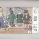 "Doll Wardrobe, 18"" American Girl or Olivia Type Dolls Vogue Craft 7008 NEW"
