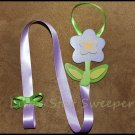 Lavender Flower Bow Holder