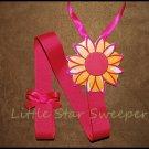 Hot Pink Flower Hair Bow Holder