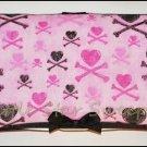 Hearts & Crossbones Wipes Case
