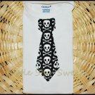 Skull Tie Onesie
