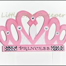 Princess Crown Hair Bow Holder