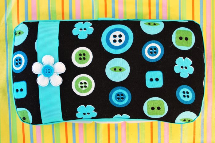 Cute as a Button Wipes Case
