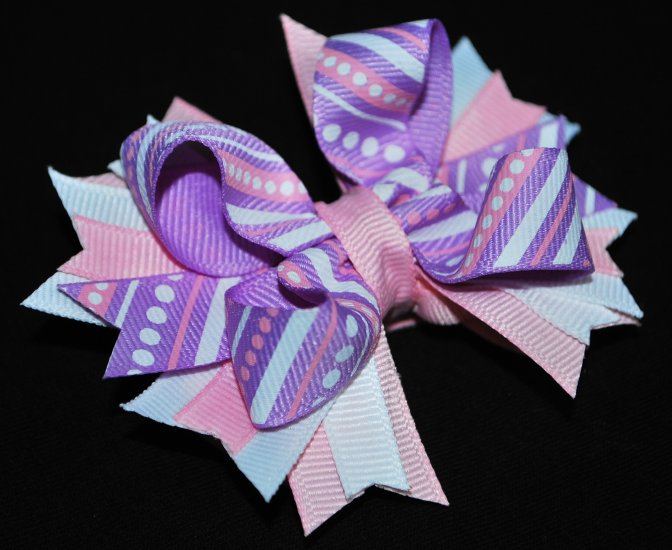 Pastel Layered Bow