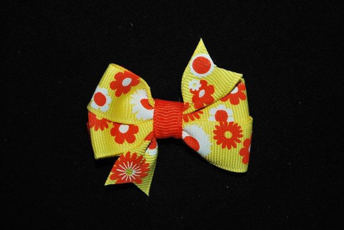 Yellow/Orange Spring Pinwheel