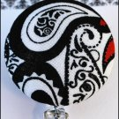 Paisley Badge Reel