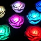 Electronic LED 7 Color Change Roses Novelty Lights