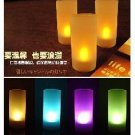 set of 48 Flameless Electronic LED Flicker Candle Light