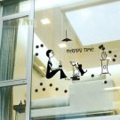 happy time Decor Wall Sticker