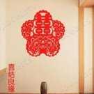 Chinese Happy character Home Decor Wall Sticker wall decal