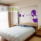 Bubble Girl Home Decor Wall Sticker wall decal