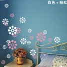 luck snow flower angle Decor Wall Sticker wall decal