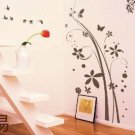 flower tree and butterfly Decor Wall Sticker wall decal