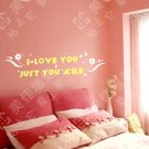 Wall Words Quotes Sticker Decals Sayings with Flower