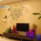 peony flower Decor Wall Sticker wall decal