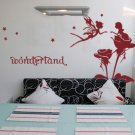 wonder land Decor Wall Sticker wall decal
