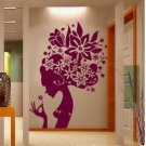 Flower angle Decor Wall Sticker wall decal