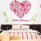 love words with heart Decor Wall Sticker wall decal