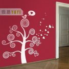 circle tree Decor Wall Sticker wall decal