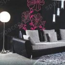 "Flower Decor Wall Sticker wall decal 33""*22"""