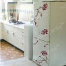 "flowers 3 Decor Wall Sticker wall decal 31""*25"" 1/2"