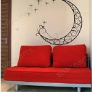 "moon Decor Wall Sticker wall decal 23""1/2 *21"" 1/2"