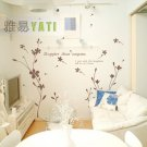 "flower tree in house Decor Wall Sticker wall decal 39""*18"""