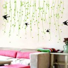 "swallow with willow Decor Wall Sticker wall decal 39""*23"""