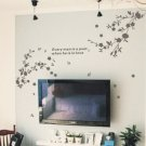 "flower branch Decor Wall Sticker wall decal 47""*70"""