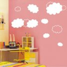 "clouds for kid Sticker wall decal 27""*23"""