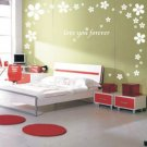 flowers Sticker wall decal