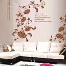 full flower Decor Wall Sticker 63&quot;