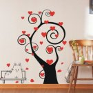 hearts tree Decor Wall Sticker 43&quot;