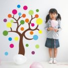 color tree 2 Decor Wall Sticker 59&quot;