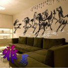 horses Decor Wall Sticker 98&quot;