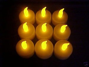 24 flicker LED TEA LIGHT WEDDING PARTY CANDLE CHRISTMAS