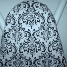 Damask Ironing Board Cover Designer Black White 15x54 Madison