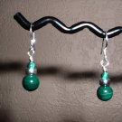 MALACHITE Sterling Silver Earrings 277