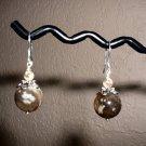 TIGER JASPER FELDSPAR Sterling Silver Earrings