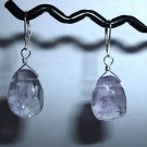 BRAZILIAN AMETHYST Sterling Silver Earrings 396
