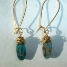 KYANITE Gold Earrings 540