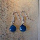 APATITE BLUE CHALCEDONY STERLING SILVER Earrings 459
