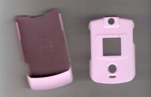Pink hard covers for the Motorola razr