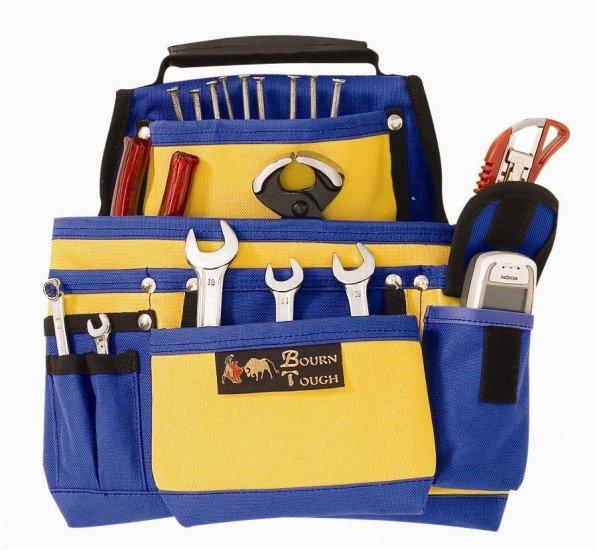 10 Pocket Heavy Duty Nylon Tool Belt Pouch Bag