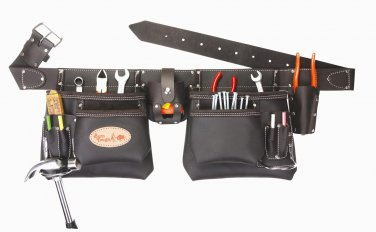 Top of the line Oil Tanned Leather Tool Bag Belt / Tool Rig Apron