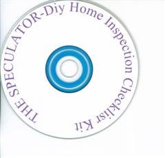 Professional Home Inspection Checklist Kit on a Disc $19.95.