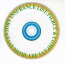 DIY Home Inventory Insurance List on a Disc $12.95.